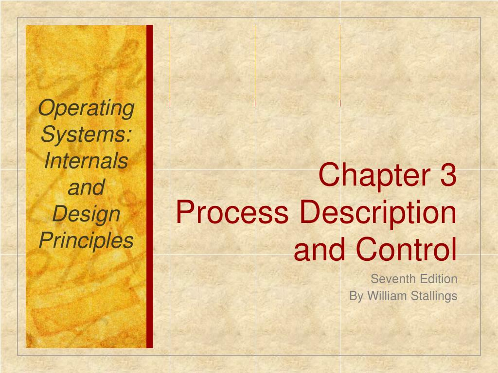 Ppt Chapter 3 Process Description And Control Powerpoint Presentation Id 767472