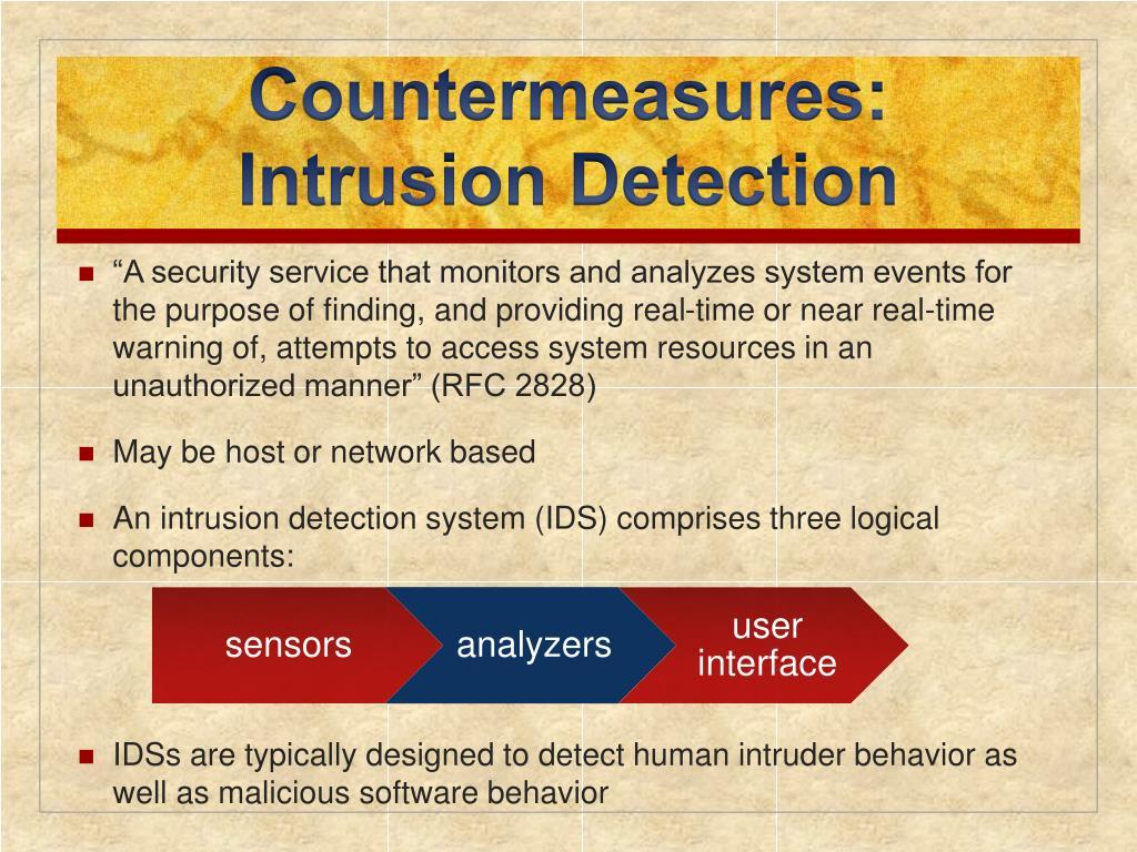 Countermeasures: