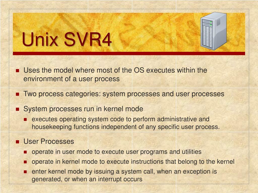 Unix SVR4