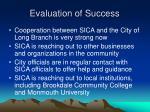 evaluation of success14