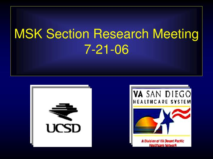 msk section research meeting 7 21 06 n.