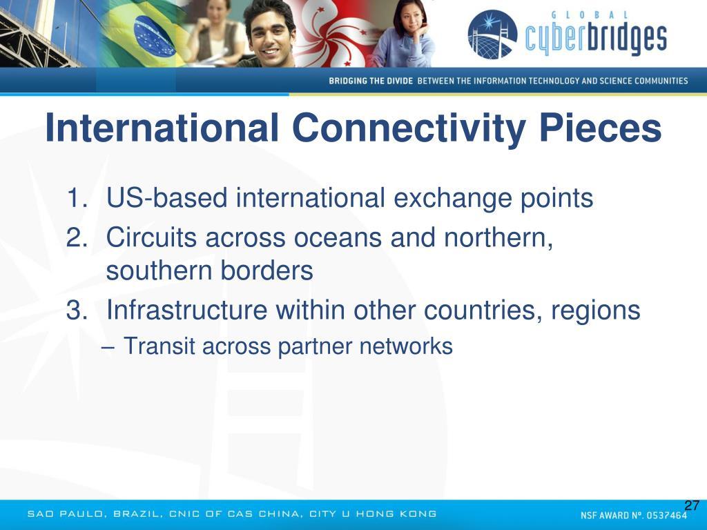 International Connectivity Pieces