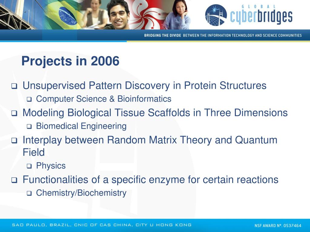 Projects in 2006