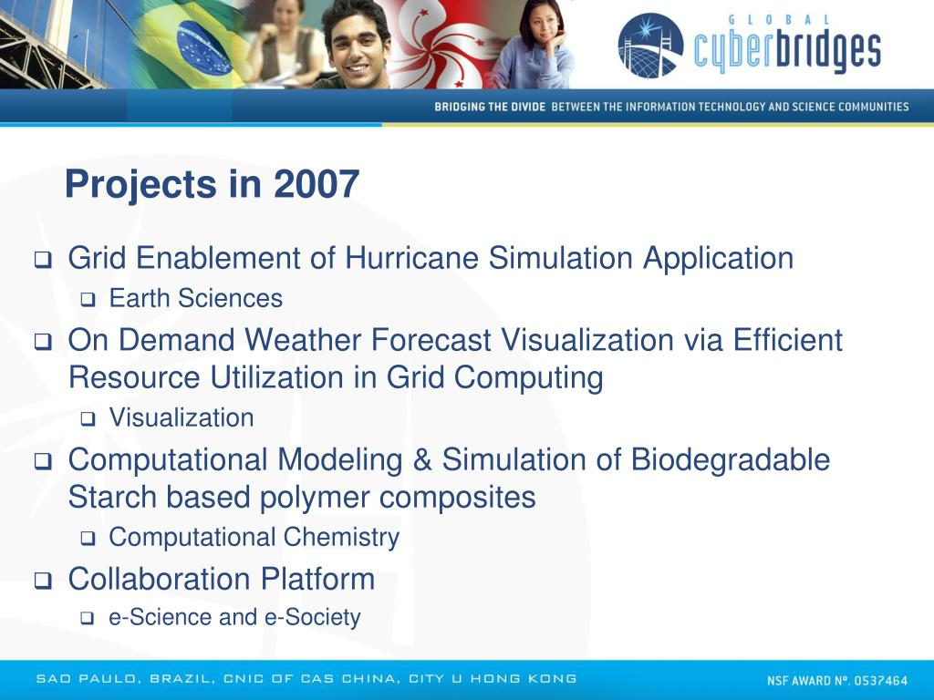 Projects in 2007