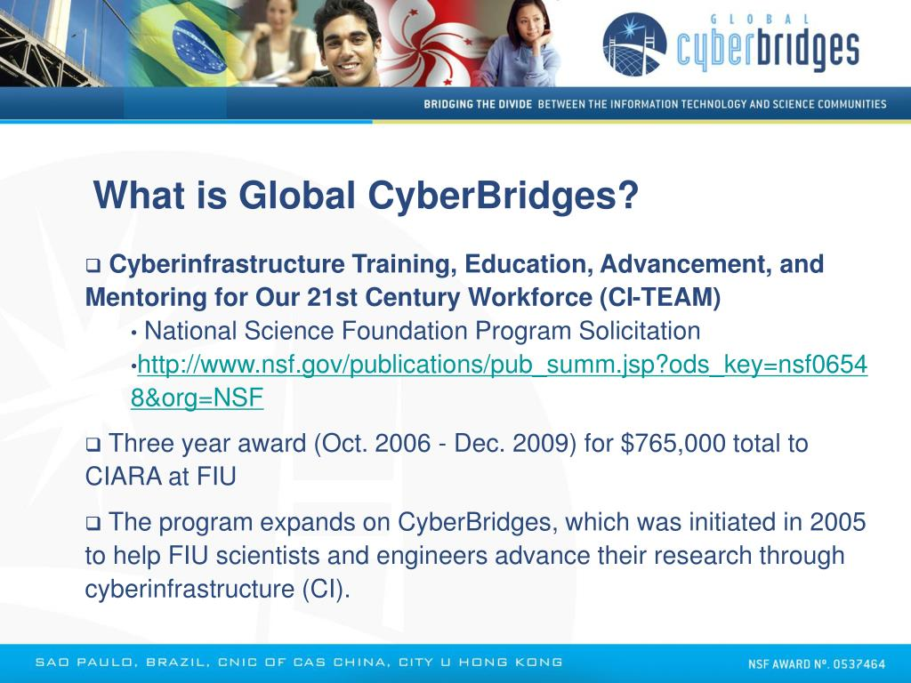 What is Global CyberBridges?