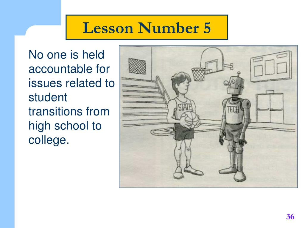 Lesson Number 5