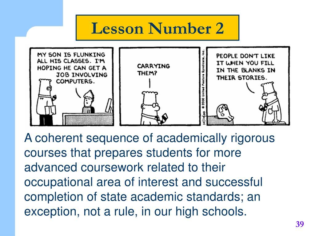 Lesson Number 2