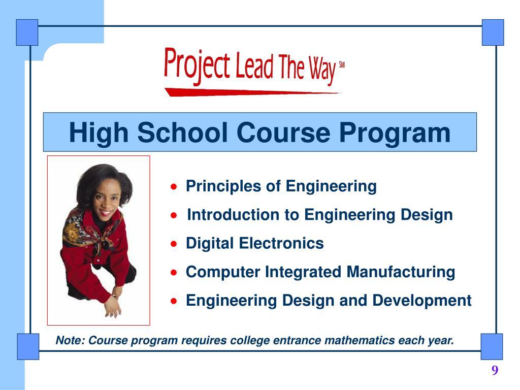 High School Course Program