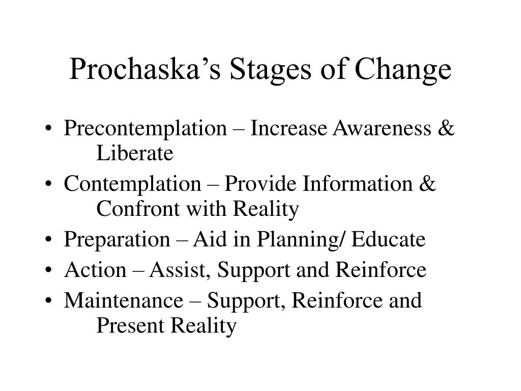 Prochaska's Stages of Change