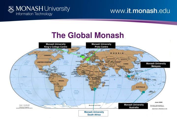 The global monash