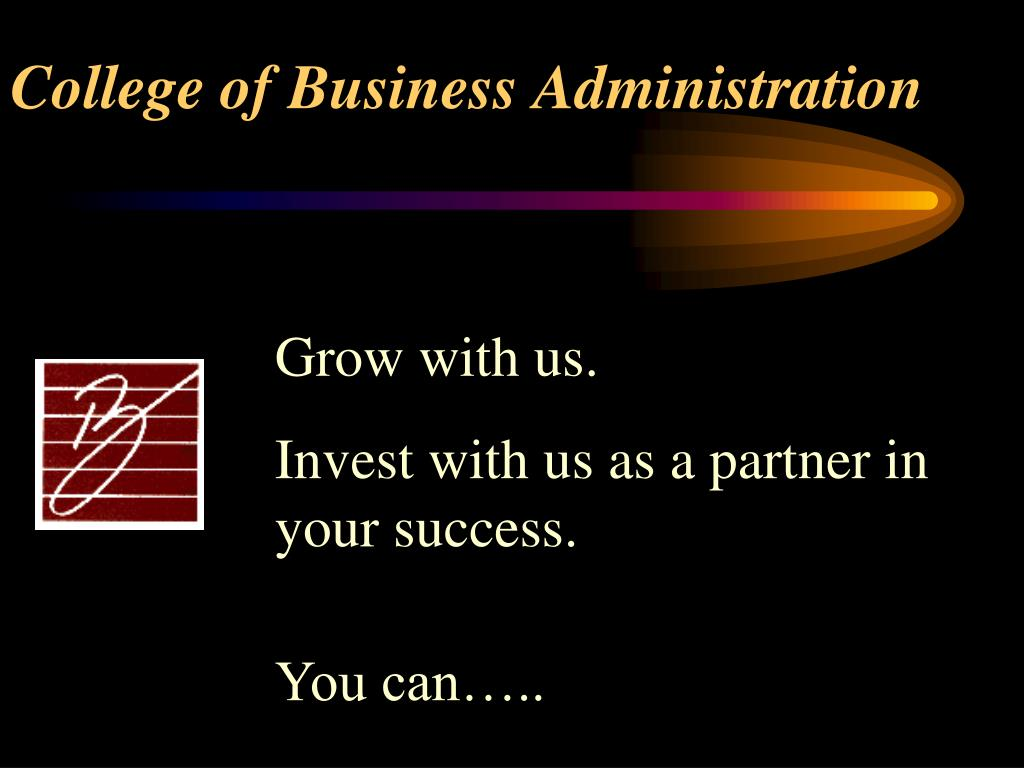 college of business administration l.