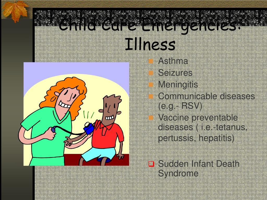 Child Care Emergencies: Illness