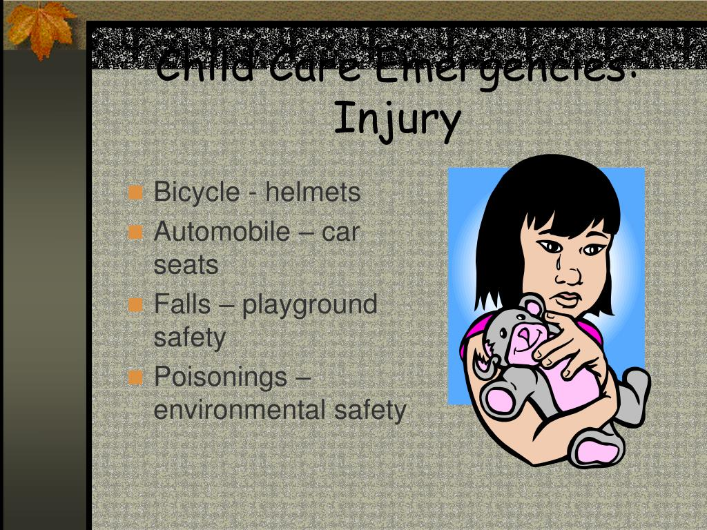 Child Care Emergencies: Injury