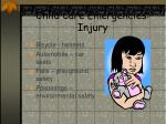child care emergencies injury