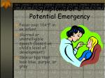 symptoms of a potential emergency15