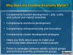 why does the creative economy matter15