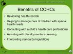 benefits of cchcs11