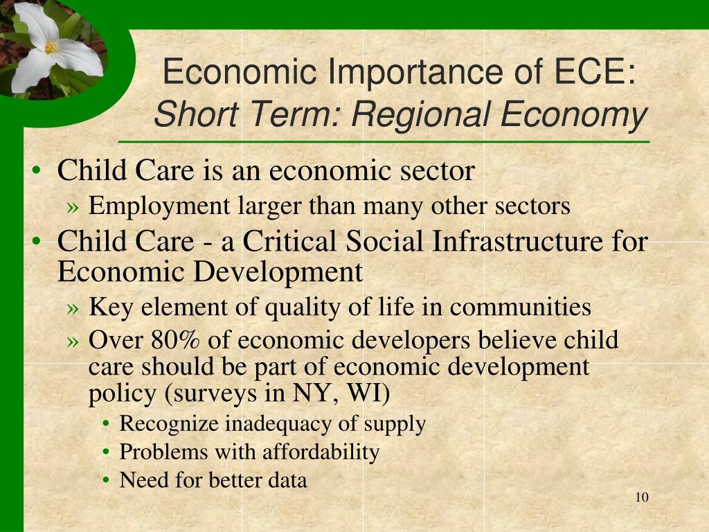 Economic Importance of ECE: