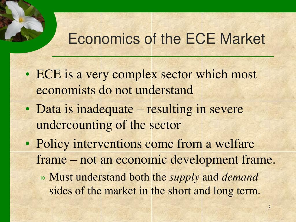 Economics of the ECE Market
