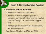 need a comprehensive solution40