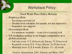 workplace policy