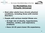 co morbidities are virtually universal
