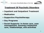 treatment of psychotic disorders