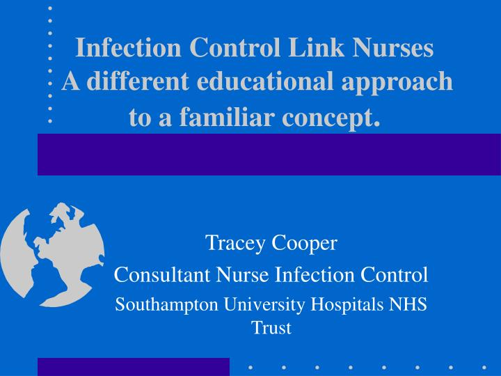 infection control link nurses a different educational approach to a familiar concept n.