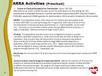 arra activities preschool
