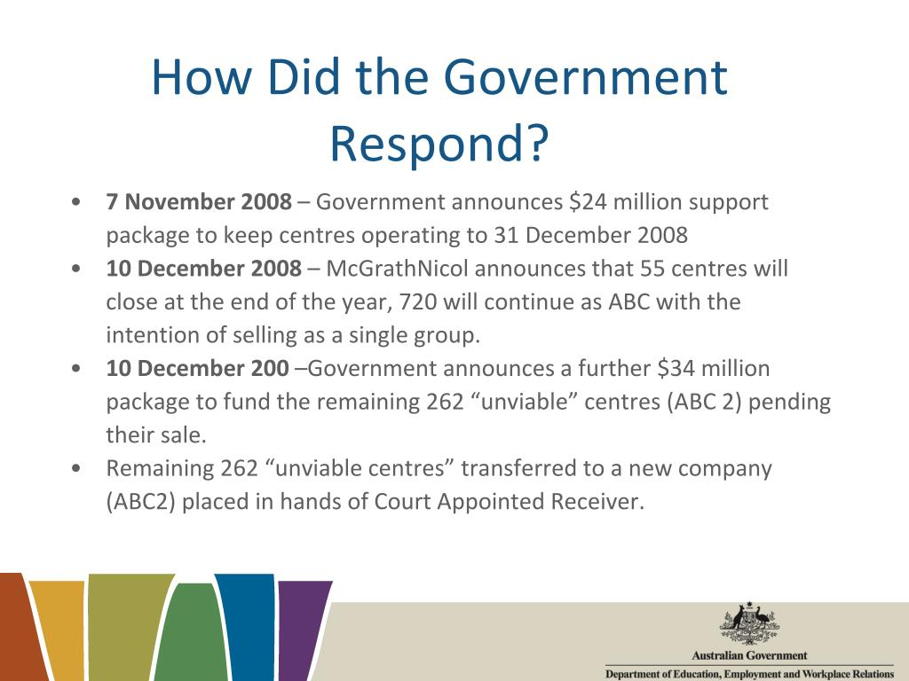 How Did the Government Respond?