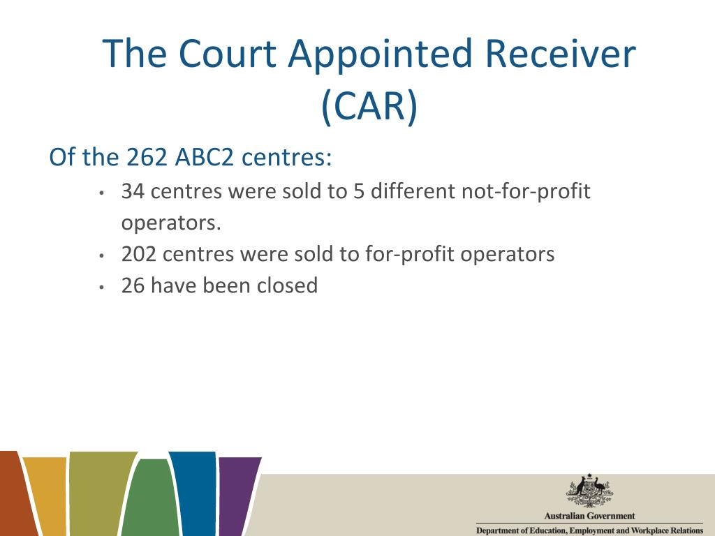 The Court Appointed Receiver (CAR)
