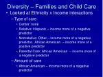 diversity families and child care33