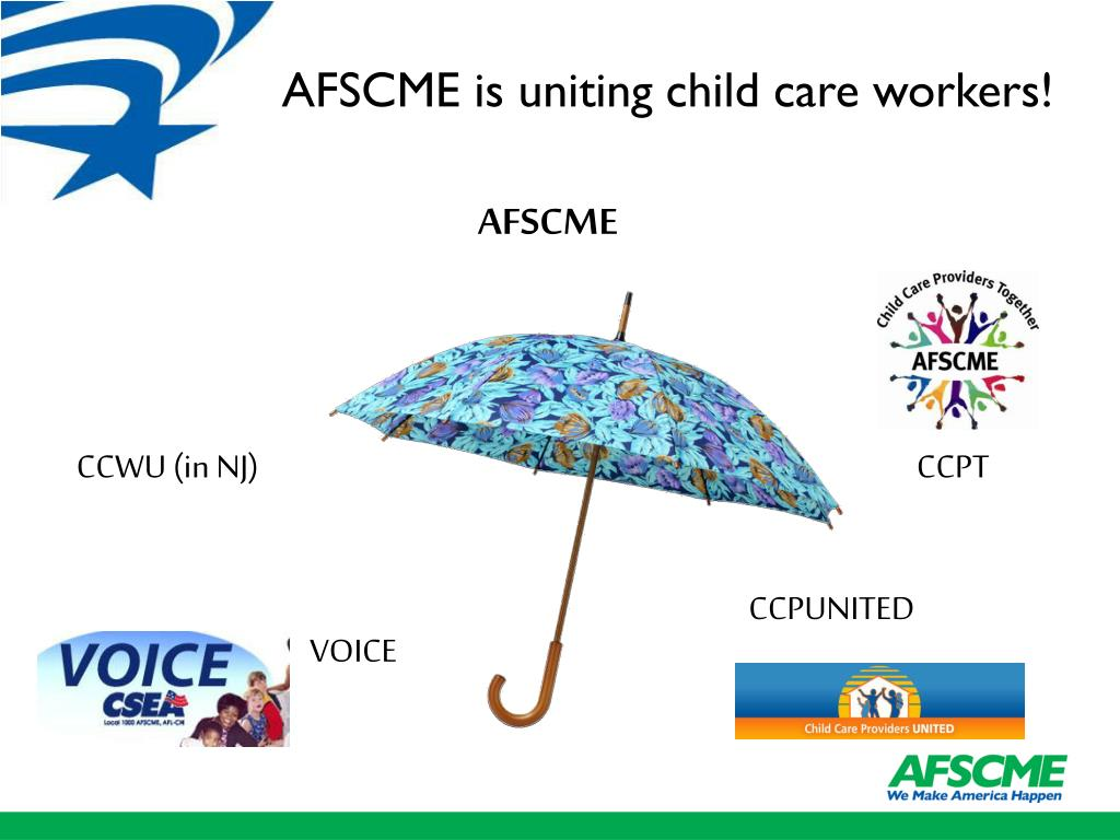 AFSCME and Child Care Workers