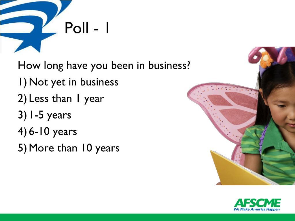 Poll - 1