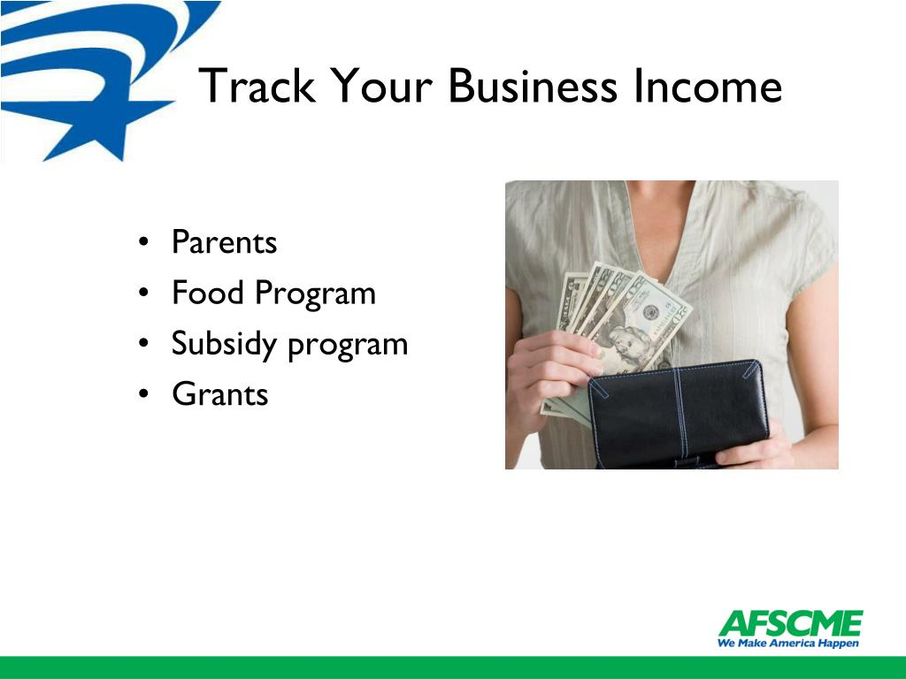 Track Your Business Income