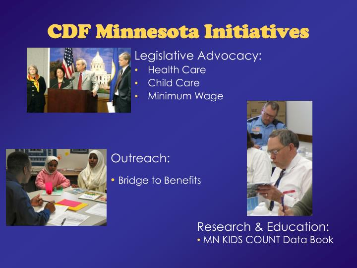Cdf minnesota initiatives