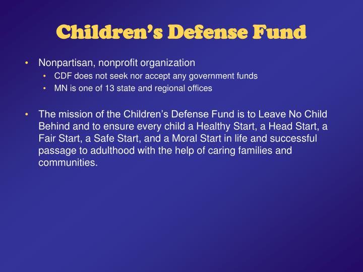 Children s defense fund