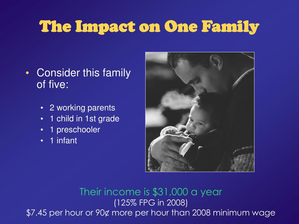 The Impact on One Family