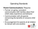operating standards11