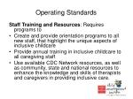 operating standards14