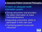 envision an adequate health information system