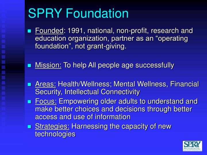 Spry foundation