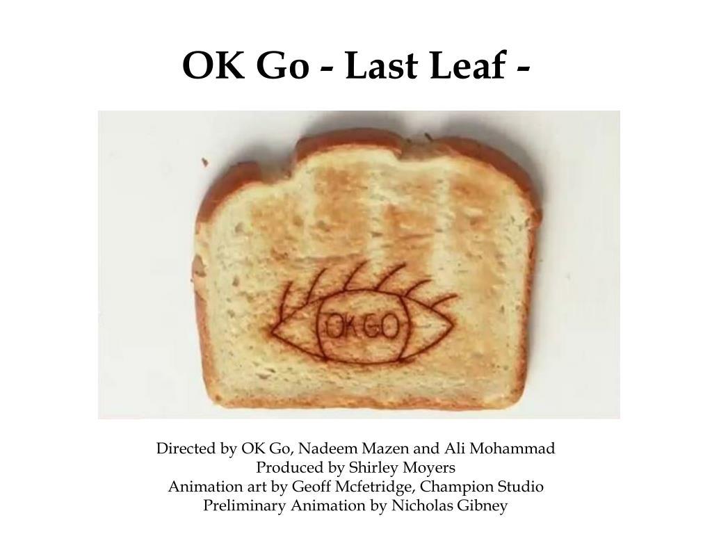 ok go last leaf l.