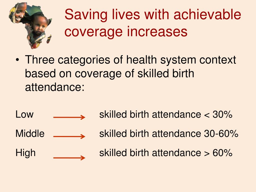 Saving lives with achievable coverage increases