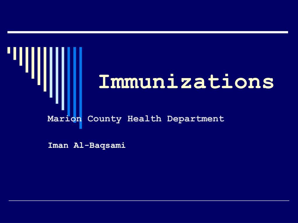 immunizations l.