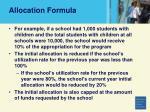 allocation formula71