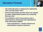 allocation formula72