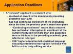 application deadlines24