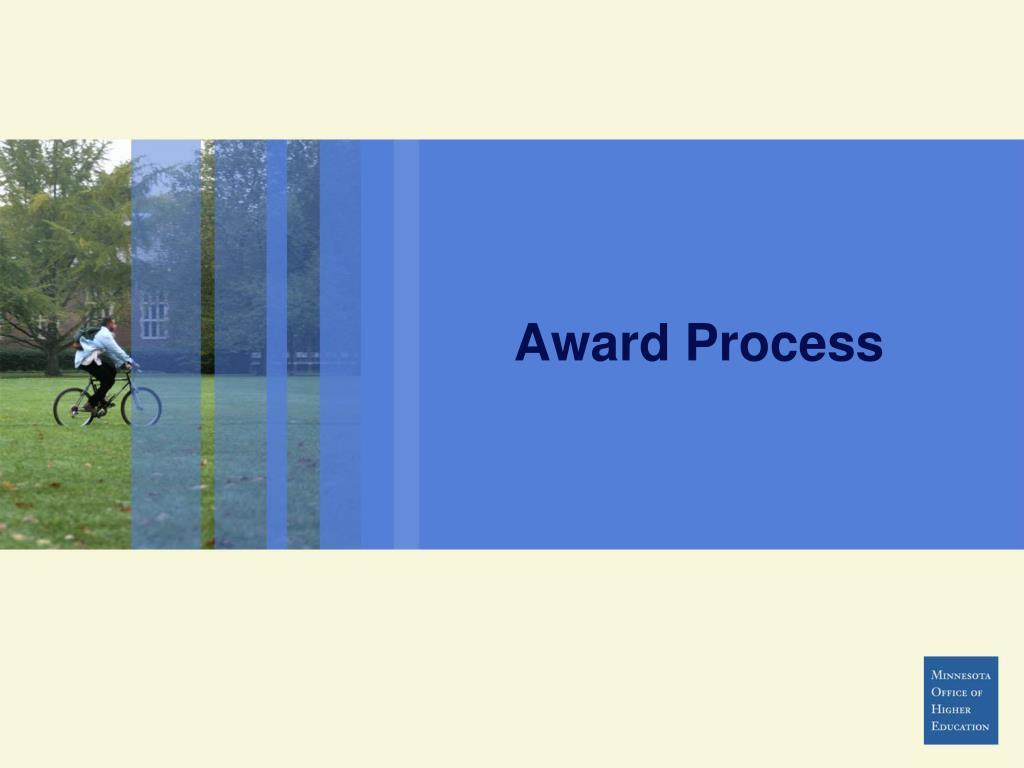 Award Process