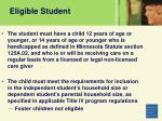 eligible student10